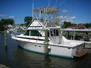 Used Bertram 35 Convertible Fishing Boat For Sale