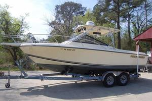 Used Performer 24 Express Saltwater Fishing Boat For Sale
