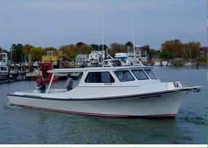 Used Wicomico Chesapeake Deadrise Commercial Boat For Sale
