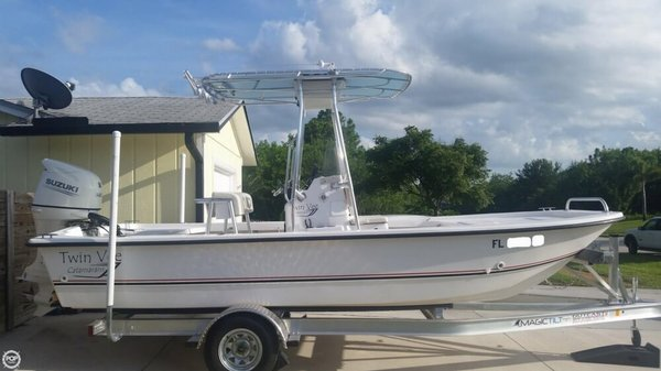 Used Twin Vee Bay Cat 190 Bay Boat For Sale