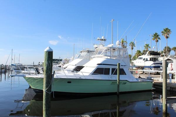 Used Ricker Brothers 48 Convertible Fishing Boat For Sale