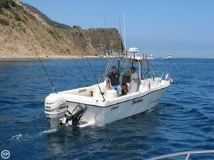 Used Seaswirl striper 2601 Walkaround Fishing Boat For Sale