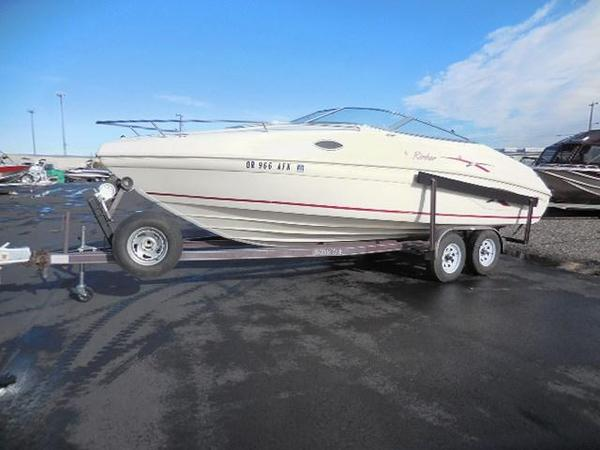Used Rinker 232 CAPTIVA CD Aluminum Fishing Boat For Sale