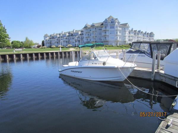 Used Trophy 1952 Walkaround Cruiser Boat For Sale