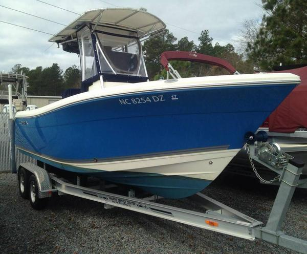 Used Cobia 217 Center Console Saltwater Fishing Boat For Sale