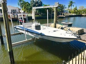 Used Back Country Powerboats 21 Flats Fishing Boat For Sale