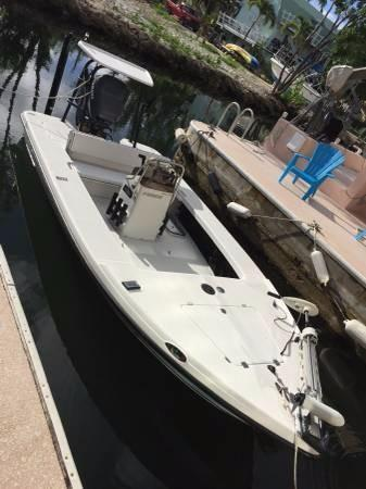 Used Action Craft 1720 Flats Fishing Boat For Sale