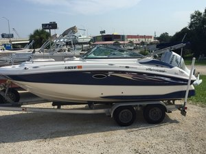 Used Hurricane 2000 Deck Boat For Sale