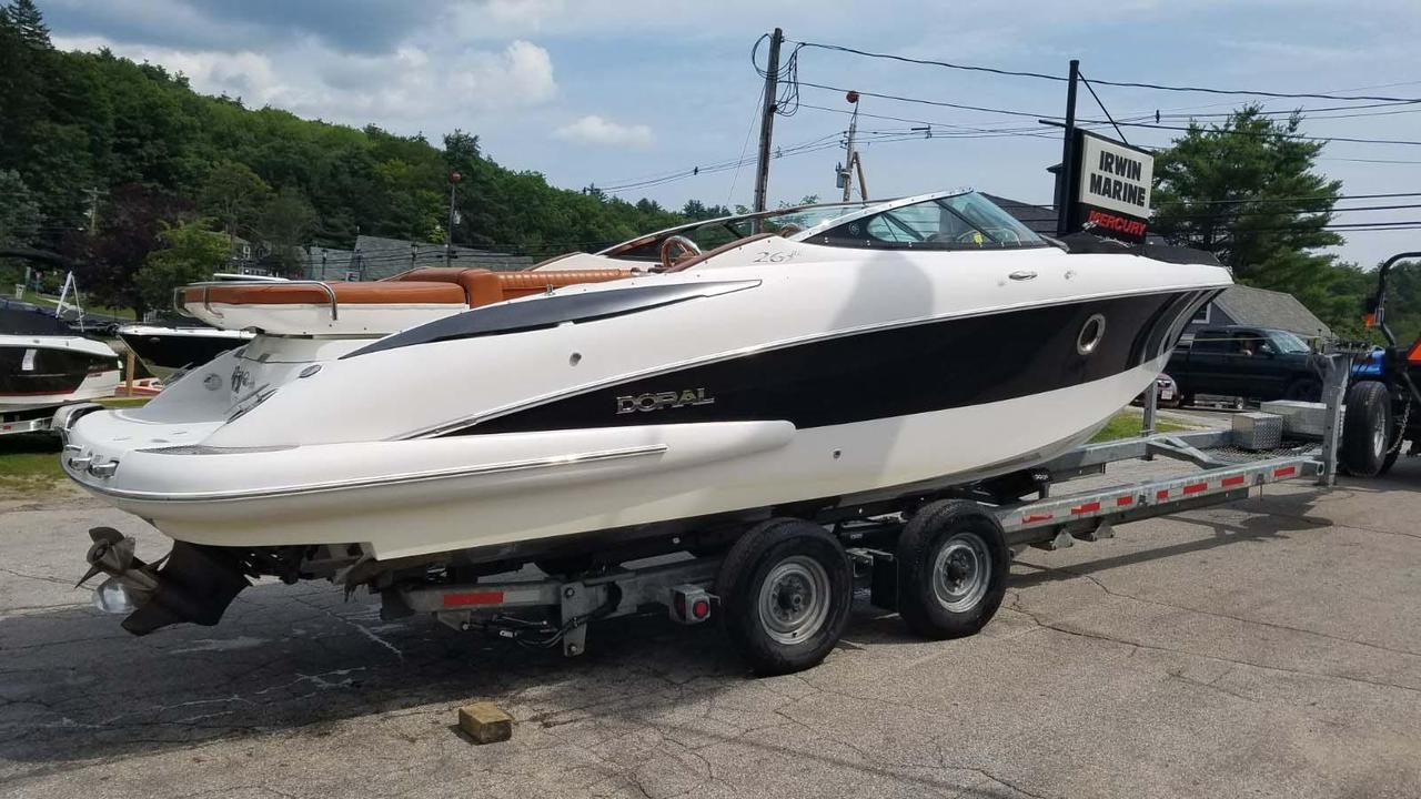 Volvo Dealers Nh >> 2008 Used Doral Elite 265 BR Bowrider Boat For Sale ...