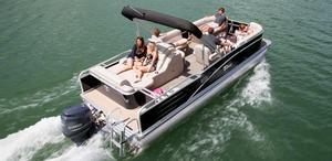 Used Tahoe Pontoon Cascade - 24' Pontoon Boat For Sale