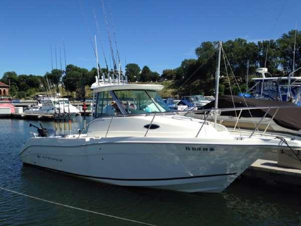 2014 used striper 2601 walkaround fishing boat for sale for Fishing boats for sale in ohio