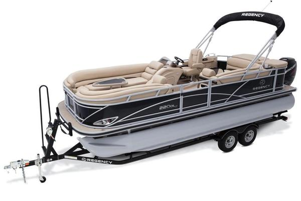 New Regency 220 DL3 Pontoon Boat For Sale