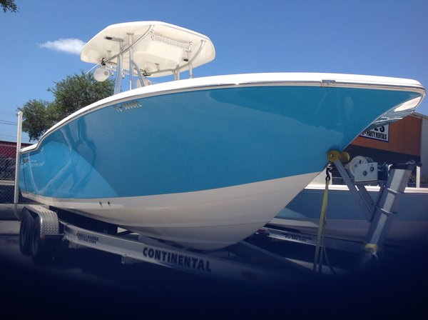 Used Tidewater Boats 230 CC Adventure Center Console Fishing Boat For Sale