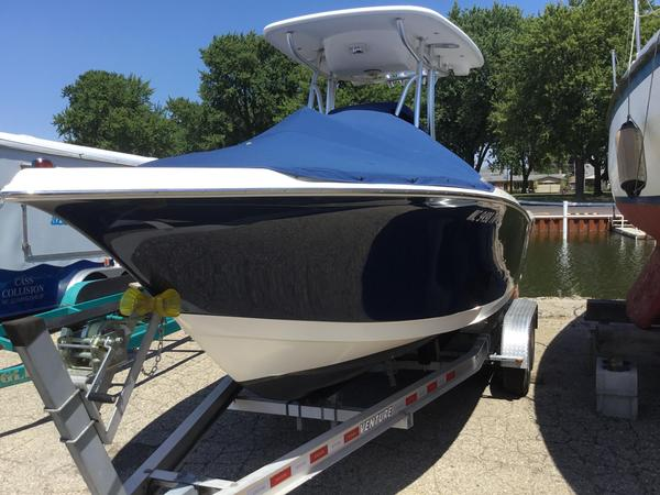 Used Tidewater 216 Center Console Fishing Boat For Sale