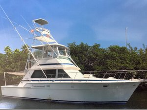 Used Bertram 42 Convertible Fishing Boat For Sale