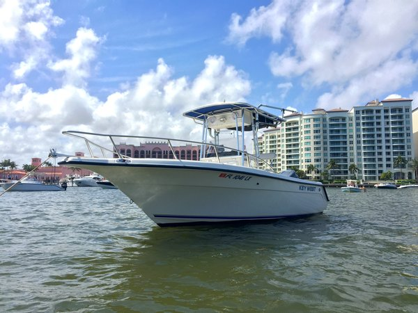 Used Key West 2220 Center Console Fishing Boat For Sale