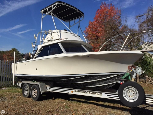 Used Bertram 25 Mark II Flybridge Sportfish Sports Fishing Boat For Sale