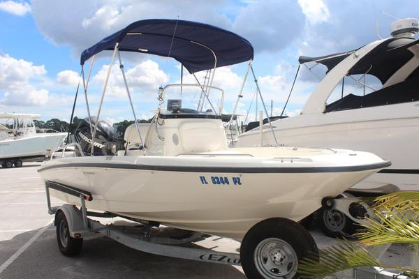 Used Boston Whaler 18 Dauntless Saltwater Fishing Boat For Sale