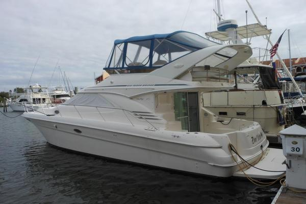 Used Sea Ray 40 Sedan Bridge Flybridge Boat For Sale