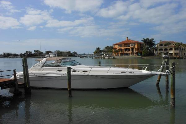 Used Sea Ray 45 Sundancer Express Cruiser Boat For Sale