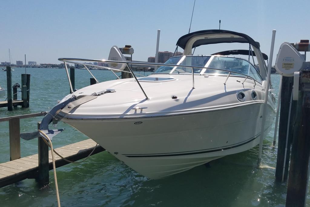 2006 Used Sea Ray 260 Sundancer Sports Cruiser Boat For Sale