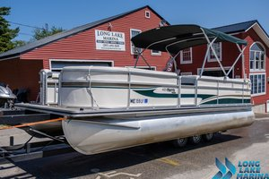 Used Harris Flotebote 220 Classic Pontoon Boat For Sale