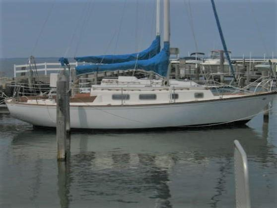 Used Tartan 34 Sloop Sailboat For Sale