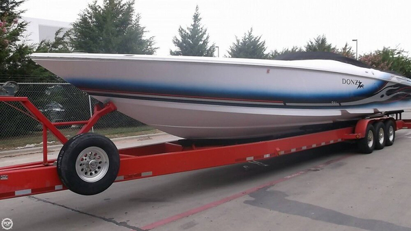 Used Donzi 43ZR High Performance Boat For Sale