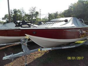 New Crestliner 1700 Vision Freshwater Fishing Boat For Sale