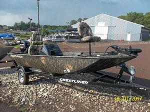 New Crestliner 1600 Storm Freshwater Fishing Boat For Sale