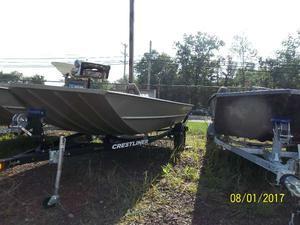 New Crestliner 1756 Retriever Jon Deluxe Jon Boat For Sale