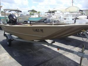 Used G3 16FOOT Aluminum Fishing Boat For Sale