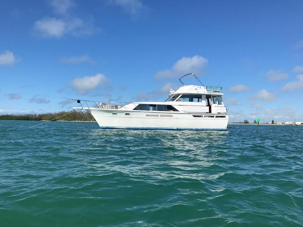 Used Pacemaker 46 Motor Yacht Aft Cabin Boat For Sale