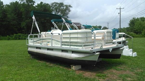 Used Riviera Pontoon Boat For Sale