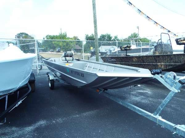 Used Lowe Roughneck RX1546 Jon Boat For Sale