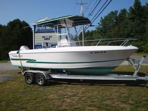 Used Pro Line 22 Sport Saltwater Fishing Boat For Sale
