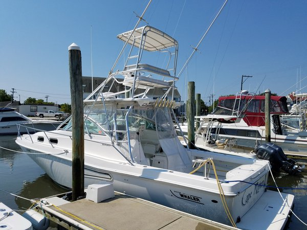 Used Boston Whaler Defiance 350 Sports Fishing Boat For Sale
