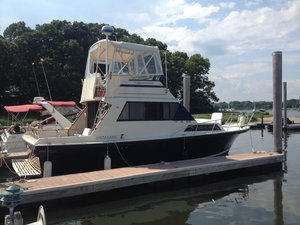 Used Stamas Flybridge Boat For Sale