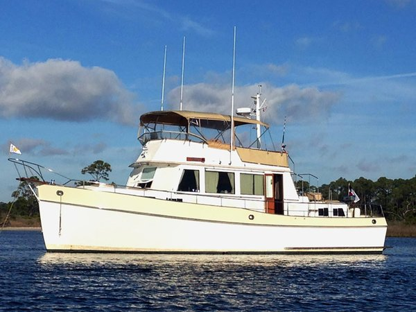 Used Grand Banks 49 Classic Trawler Boat For Sale