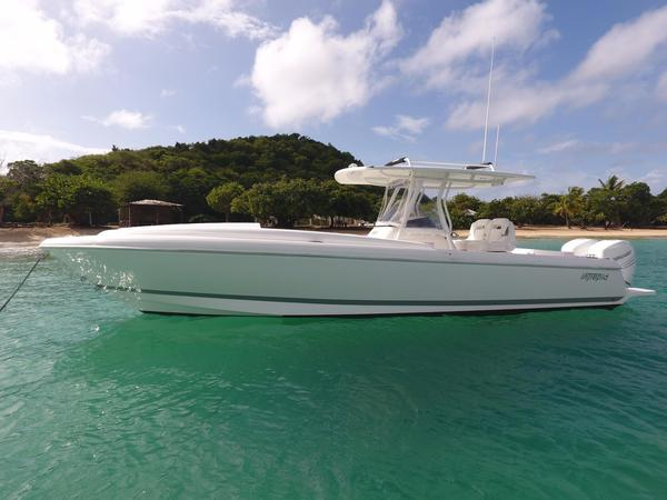 Used Intrepid 327i Cuddy Cabin Boat For Sale