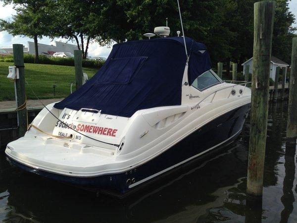 Used Sea Ray 340 Sundancer Cruiser Boat For Sale