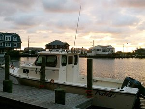 Used Parker Sport Cabin Saltwater Fishing Boat For Sale