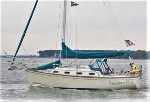 Used Island Packet 27 CB Cutter Cruiser Sailboat For Sale