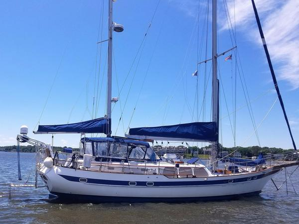 Used Ta Chiao Ct-56 Deck Saloon Sailboat For Sale