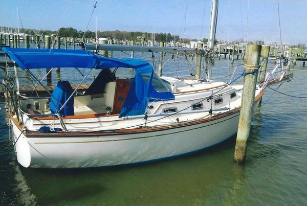 Used Island Packet 27 CB Cutter Sailboat For Sale