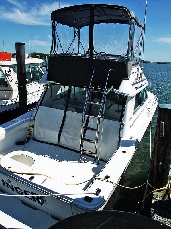 Used Sea Ray Amberjack Sport Bridge Sports Fishing Boat For Sale