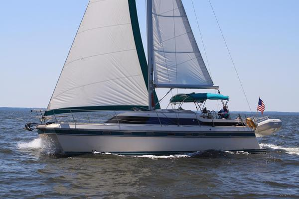 Used Island Packet Cat Cruiser Sailboat For Sale