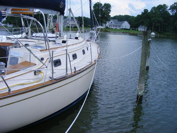 Used Island Packet 40 Cutter Sailboat For Sale