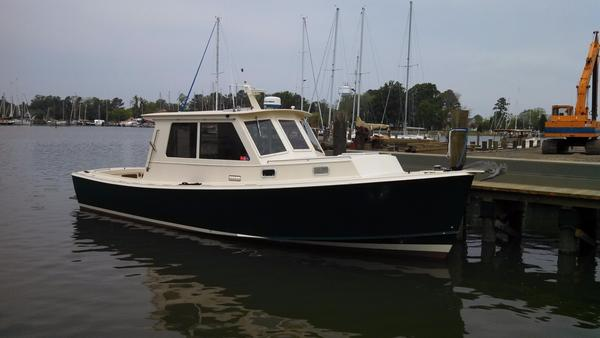 Used Mast & Mallet Rabbit 34 Downeast Fishing Boat For Sale