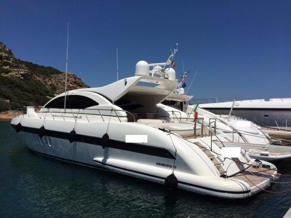 Used Mangusta 72 Motor Yacht For Sale